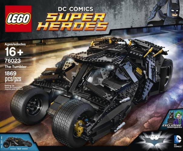 Lego 76023 DC Comic Super Heroes Batman UCS The Tumbler Building Set - $500