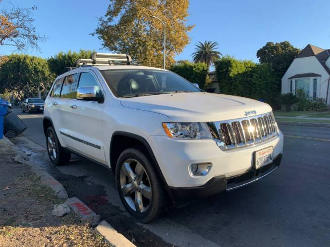 2013 Jeep Grand Cherokee Overland Edition